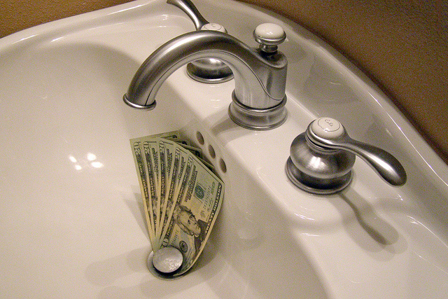 Liquid Drain Cleaner is Money Down The Drain